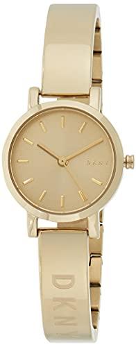 DKNY Damen Analog Quarz Uhr mit Edelstahl Armband NY2307