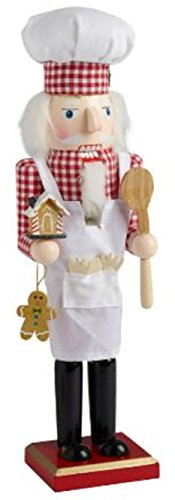 Gift For A Pastry Chef - 15 inch Pastry Chef Nutcracker