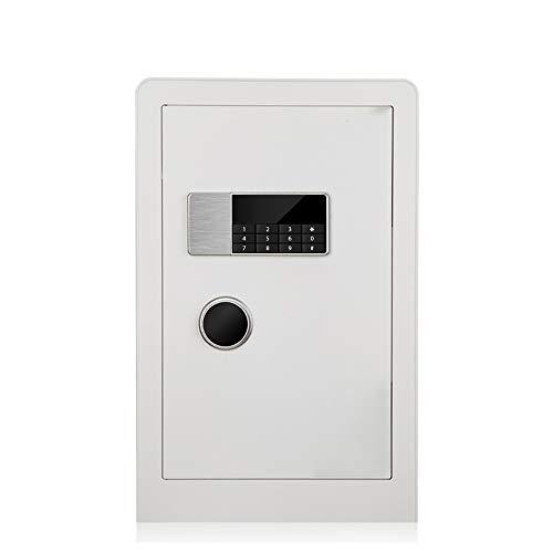 MAATCHH Caja Fuerte de Gabinete Gabinete con Cerradura Digital Llave electrónica Caja de Almacenamiento de Claves seguras Lockbox para el Negocio en casa (Color : White, Size : 38x36x60cm)