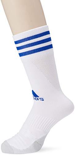 adidas Adi Sock 18 Calzini, Unisex – Adulto, White/Bold Blue, 4345