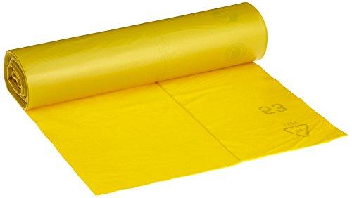 Müllsäcke DEISS PREMIUM gelb Typ 60, 120 Liter