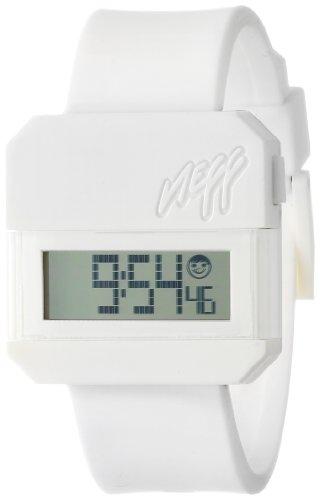 Neff - Reloj Unisex de Silicona Resistente al Agua LCD