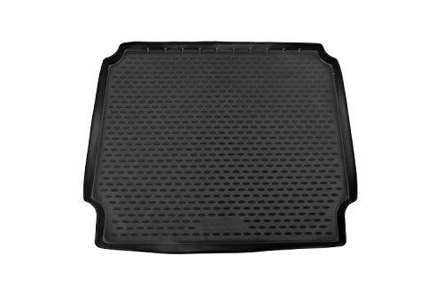Element Kofferraumwanne Laderaumwanne für OPEL Zafira Tourer C 2012-2019 Minivan (gefalteter Rücksitz), schwarz