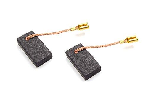 vhbw 2x escobillas de carbón, carbón para motor...