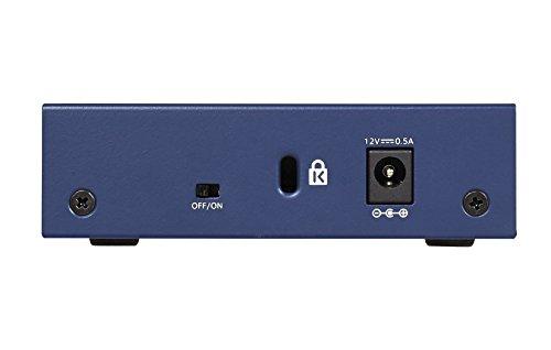 NETGEAR(ネットギア)『ギガビットアンマネージスイッチ(GS105-500JPS)』