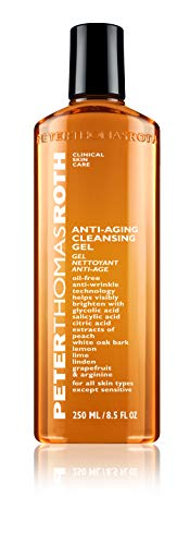 reviva peter thomas roth glycolic acids Peter Thomas Roth Anti-Aging Cleansing Gel, Face Wash with Anti-Wrinkle Technology, Exfoliates with Glycolic Acid and Salicylic Acid