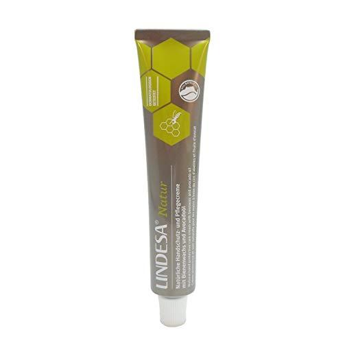 10 Tube Lindesa® NATUR (50ml) Handcreme mit Avocadoöl und Bienenwachs