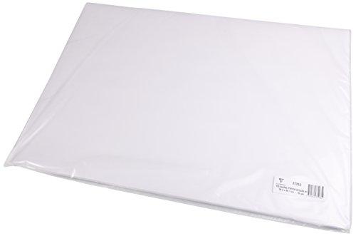 Clairefontaine 37263C Skizzenpapier (90 g, DIN A1, 59,4 x 84,1 cm, 125 Blatt, ideal für Künstler oder die Schule) weiß