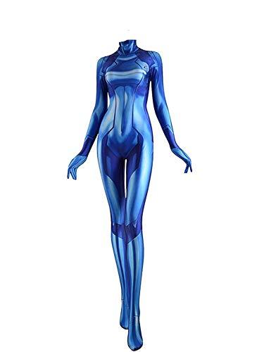 Zero Suit Samus Cosplay Costume (Extra groß)