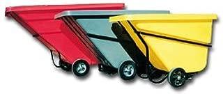 C.R. Daniels 520251 Polyethylene Tilt Truck Hinged Lid, Fits 1.5 yd. Truck, 81