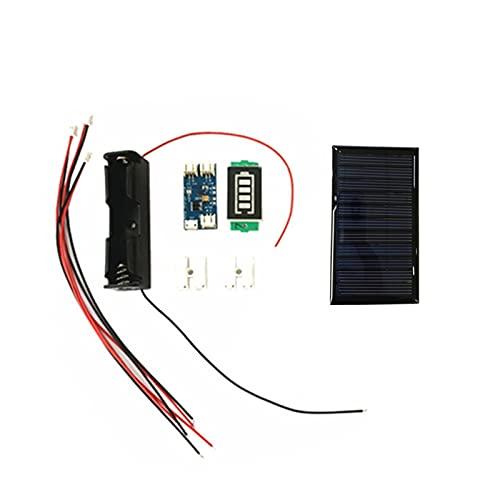 uerdand Mini Panel Solar Mini 80 * 45mm 5v 60ma for Mini Panel Solar Mini Solar lipo Cargador Cargador de batería/Pantalla