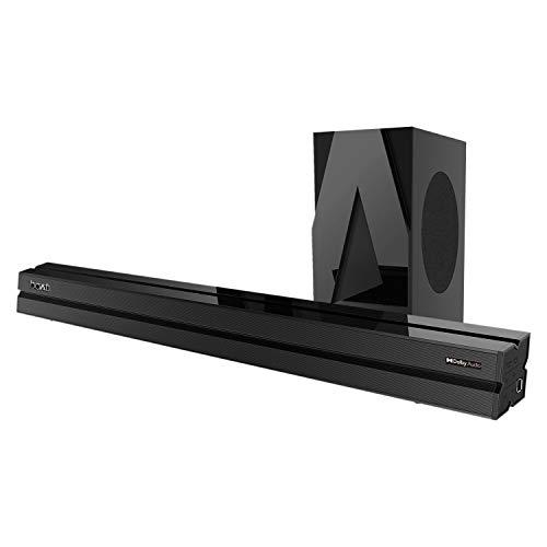 boAt AAVANTE Bar 1700D 120W 2.1 Channel Bluetooth Soundbar with Dolby Audio,...