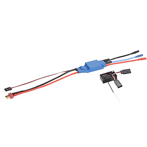 Jimi Feilun FT012-15 Brushless Speed Controller ESC and Receiver New Version (B Version) Boat Spare Parts for Feilun FT012 RC Boat