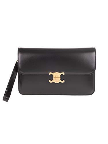 Luxury Fashion | Céline Woman 193473BF438NO Black Leather Pouch | Fall Winter 20