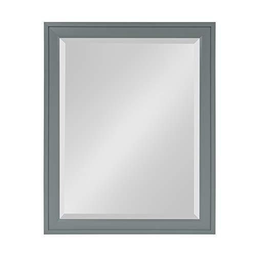 DesignOvation Bosc Framed Wall Mirror, 21.5x27.5, -