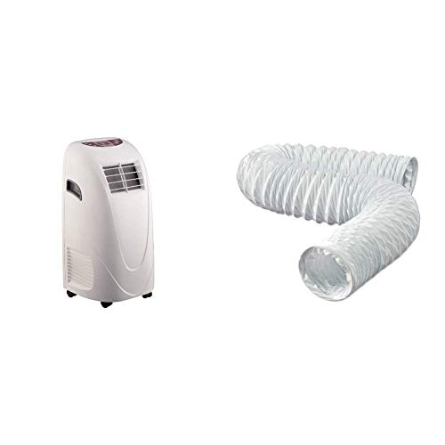 Global Air 10,000 BTU Portable Air Conditioner Cooling /Fan with Remote Control...