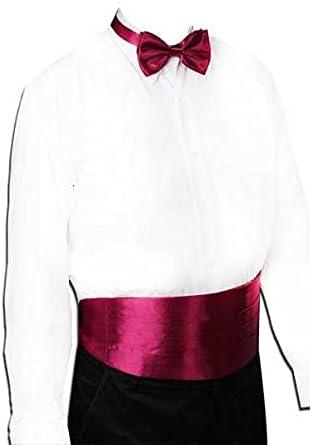Walnut Gentleman Solid Wide Silk Satin Elastic Belly Band Tuxedo Cummerbund Commercial Banquet Model Business Elite (Color : B)