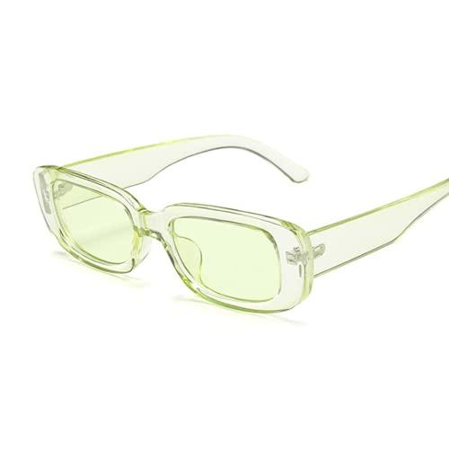 Vintage Negro Cuadrado Gafas De Sol Mujeres Marca De Lujo Pequeño Rectángulo Gafas De Sol Femenino Gradiente Claro Espejo Oculos De Sol