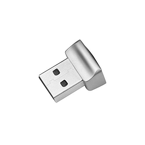 TEC Mini USB Fingerprint Reader for Windows 10 Hello, TEC TE-FPA2 Bio-Metric Fingerprint Scanner PC Dongle for Password-Free and File Encryption, 360° Touch Speedy Matching Security Key