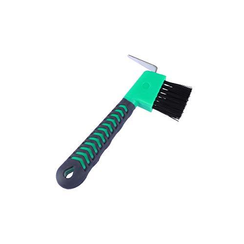 POPETPOP Cure-Sabot con Mango Cepillo y Herramienta de Limpieza para Caballos (Color Aleatorio)
