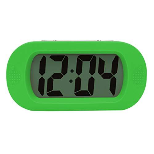 Amuzocity Reloj Digital DE Alarma con Snooze CONFIGURACIÓN Simple A Prueba DE CHOQUES, Reloj DE Regalo para NIÑOS - 2, Individual