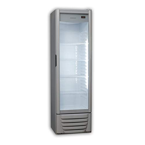 Vitrina expositora - Jocel nevera JEXP249-003218, 249L, No Frost, Luz LED, Termostato regulable