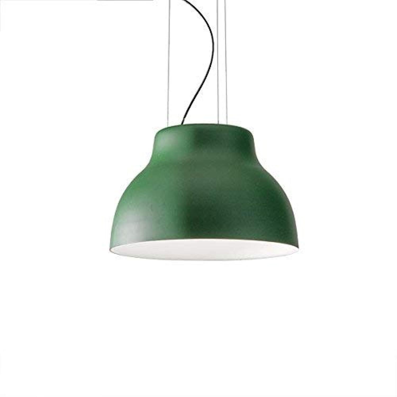 Moderne Edison Suspension Luminaire Suspendu Plafonnier Lustre avec Abat-Jour en Fer pour Loft Bar Cuisine Chambre Restaurant (Couleur  Noir)
