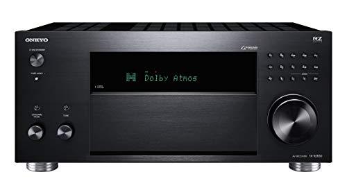 Onkyo TX-RZ830(B) 9.2-Kanal AV Receiver (THX Kinosound, Dolby Atmos, DTS:X, 4K Durchleitung, WLAN, Bluetooth, Musik Streaming, Spotify u.a., Internetradio, Multiroom, 180 W/Kanal), schwarz