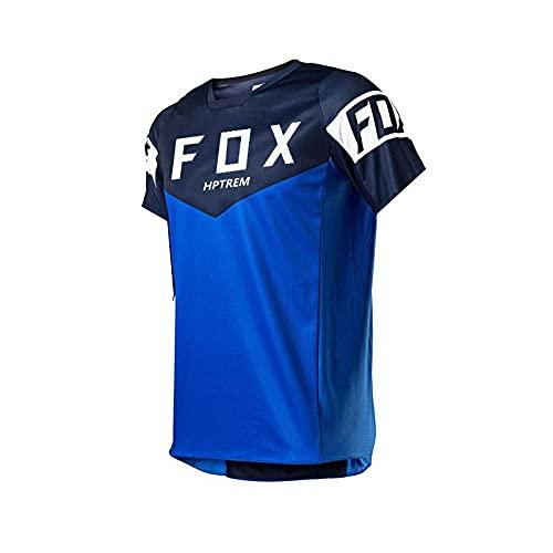 Bike Jerseys Motocrossb MX Racing T-Shirt Downhill Dh Short Sleeve Cycling Clothesmx Summer Hptrem Fox MTB Jersey Locomotive-S