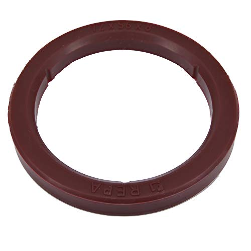 SW-K Dichtung O-Ring Siebträgerdichtung kompatibel als Ersatz für Reneka ASTORIA CMA WEGA - Maschinen Espressomaschine Kaffeemaschine Brühgruppe (Braun) ø 72 x 56 x 8 mm