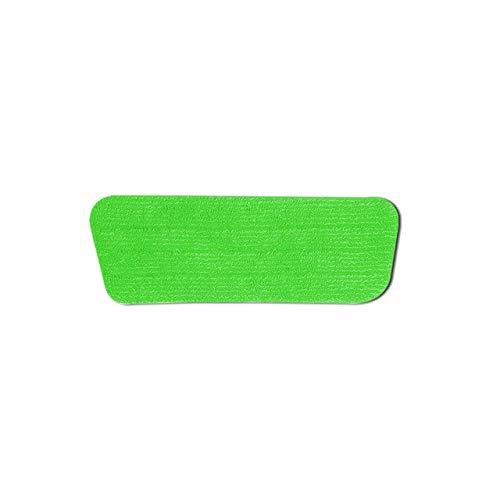 MAWA Almohadilla de Repuesto para fregona Plana Accesorio de Cabeza de fregona Adhesiva Paño de Fregar Absorbente para el hogar - Verde, a1