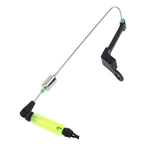 Vaorwne LED Cadena De Alarma De Pesca Mordida Indicador Mecedor Percha Ajustable Herramientas Aparejo De Pesca Profesional Accesorios De Pesca