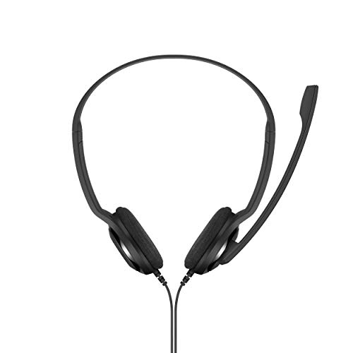 Sennheiser PC 5 Chat Kabelgebundene Kopf hörer für PCs Schwarz