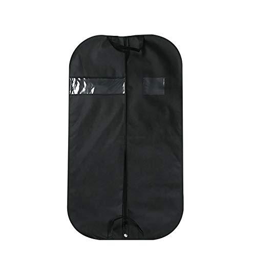 GAKIN 3 X Premium Garment Bag Shoe Lint Brush Suit Coat Cover Material Black