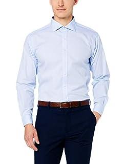 "Van Heusen Euro Tailored Fit Business Shirt, Blue, 16"" Neck 34"" Sleeve (B07PFG2JJR) | Amazon price tracker / tracking, Amazon price history charts, Amazon price watches, Amazon price drop alerts"