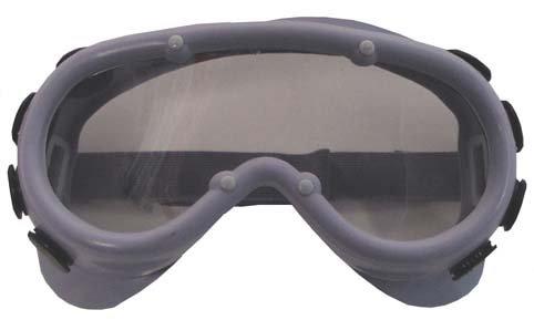 Schutzbrille, grau