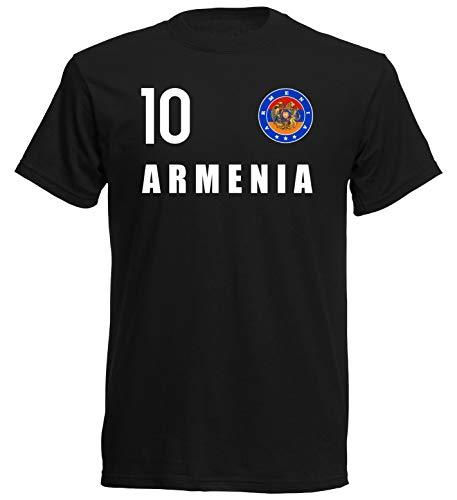 Nation Armenien T-Shirt Trikot Wappen FH 10 SC (XL)