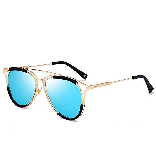 JLC Gafas de Sol Hombre Mujer UV400 Protección Gafas de Sol Polarizadas,G