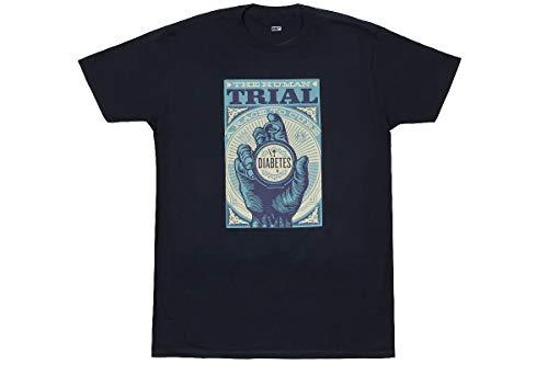 Obey Camisetas Deportivas The Human Trial Navy M
