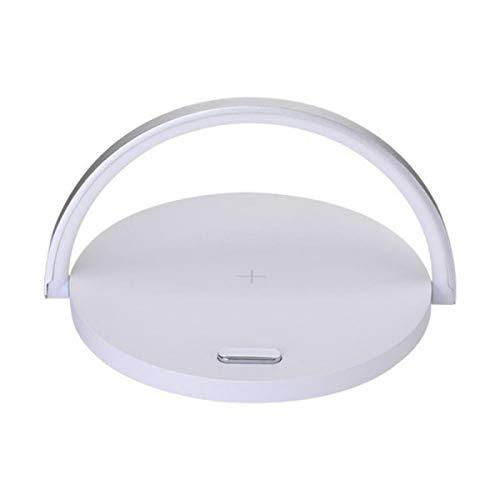 Lámpara de mesa Led lámpara de escritorio rápido cargador inalámbrico ángulo ajustable mesa de carga noche luz