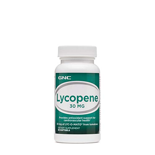 GNC Lycopene 30mg, 60 Softgels, Supports Cardiovascular Health
