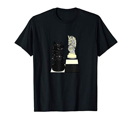 Tema De Ajedrez: Lucha De Caballeros I Adultos Jóvenes Niños Camiseta
