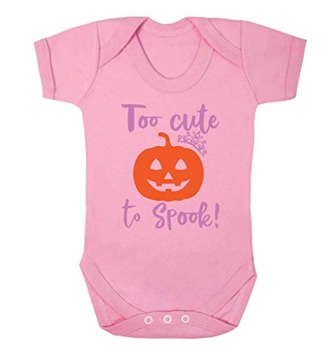 Flox Creative Baby Vest Too Cute to Spook - Rose - XL
