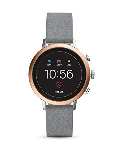 Fossil FTW6016 Digitale Smart Watch polshorloge met siliconen armband