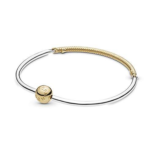 Pandora Damen-Charm-Armbänder Vergoldet 568143-19