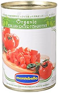 モンテベッロ・有機ダイストマト/400g TOMIZ/cuoca(富澤商店) イタリアンと洋風食材 トマト