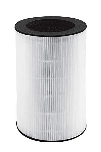 HoMedics AP-T40FLR Filtro HEPA de reemplazo para Purificador de Aire, Blanco