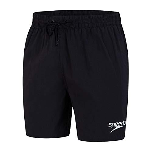 Speedo Essential Enduranc+ Badeshorts für Männer, Badehose Herren, Schwarz, Größe XS