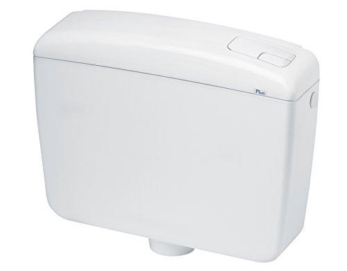 Waterful Cassetta Scarico WC a Zaino, 2 Tasti Completa, Bianco