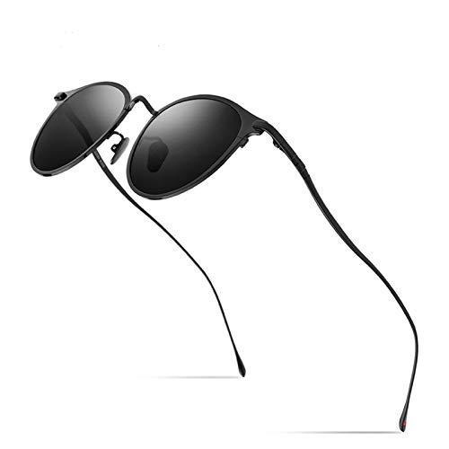 Diseño clásico Gafas de sol de titanio puro Hombres Vintag